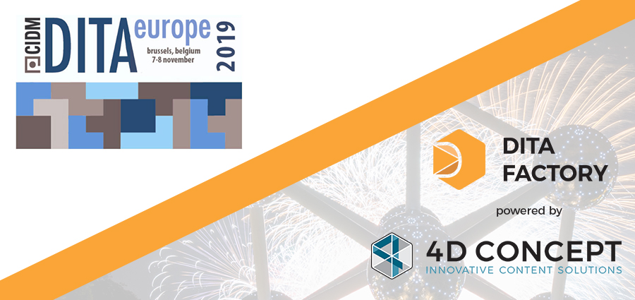 4D CONCEPT will exhibit at Dita Europe 2019