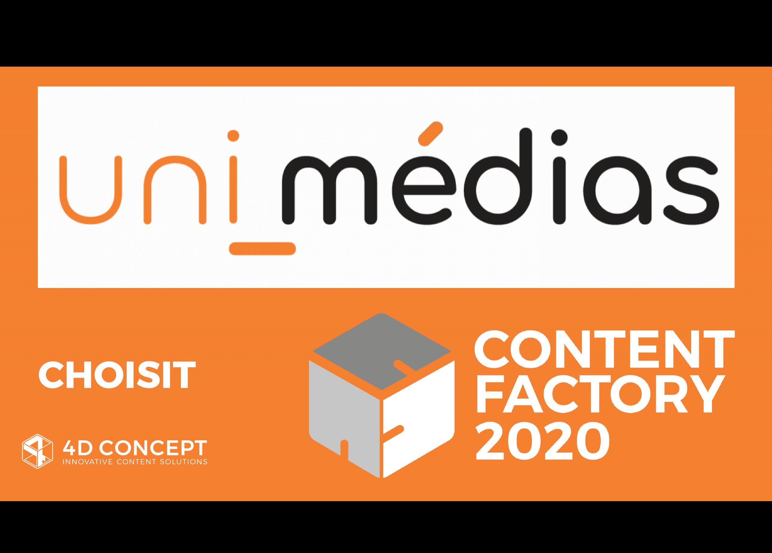 UNI-MEDIA choisit 4D CONCEPT
